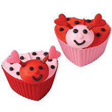 Cápsulas cupcake silicona, Pack 12 u. - Ítem1