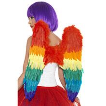 Alas ángel plumas arco iris - Ítem3