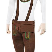 Disfraz bávaro, tirolés, Alemán, sombra, Malla - Ítem2