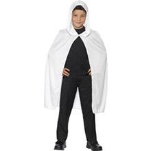 Capa con capucha blanca infantil - Ítem2