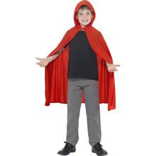 Capa roja con capucha infantil - Ítem1