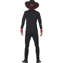 Disfraz El Señor Mejicano Día de los Muertos - Ítem1