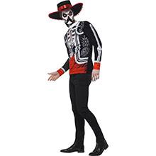 Disfraz El Señor Mejicano Día de los Muertos - Ítem2
