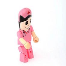 Memoria USB enfermera rosa 8GB - Ítem1
