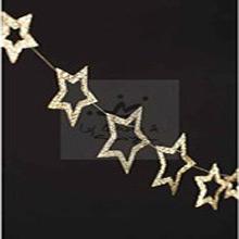 Guirnalda Estrella Metalizada - Ítem1