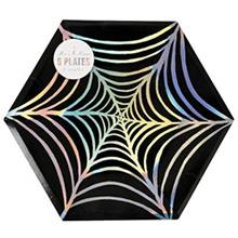 Platos Halloween 22,90 cm, Pack 8 u. - Ítem1