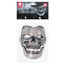 Careta esqueleto prótesis 2 piezas látex - Ítem6