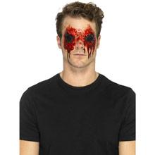 Maquillaje adhesivo ojos Zombi - Ítem2
