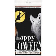 Mantel Happy Halloween 213 x 137 cm plástico, Pack 1 u. - Ítem1