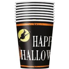 Vasos Happy Halloween 266 ml, Pack 8 u. - Ítem1