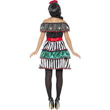 Disfraz muñeca mejicana Día de los Muertos - Ítem1