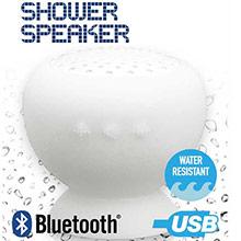Altavoz ducha bluetooth blanco - Ítem3