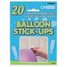 Pegatinas adhesivas para globos, Pack 20 u - Ítem1