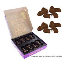 Bombones de chocolate rellenos con forma de pene - Ítem1