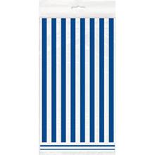 Mantel rayas blanco y azul 274 x 137 cm plástico, Pack 1 u. - Ítem1