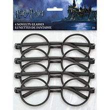 Gafas Harry Potter, Pack 4 u. - Ítem1
