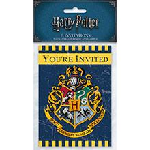Invitaciones cumpleaños Harry Potter, Pack 8 u. - Ítem1