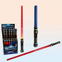 Espada Sable Láser azul con luz y sonido - Ítem1
