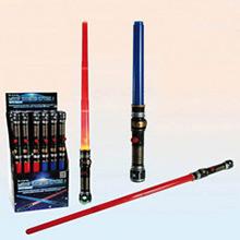 Espada Sable Láser roja con luz y sonido - Ítem1