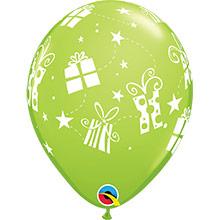 Globos Látex colores surtidos con regalos. Pack 6 u. - Ítem1
