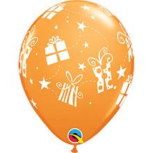 Globos Látex colores surtidos con regalos. Pack 6 u. - Ítem2