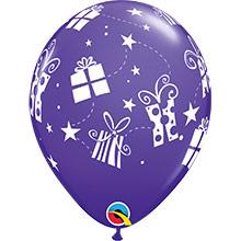 Globos Látex colores surtidos con regalos. Pack 6 u. - Ítem3