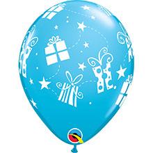 Globos Látex colores surtidos con regalos. Pack 6 u. - Ítem4