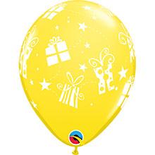 Globos Látex colores surtidos con regalos. Pack 6 u. - Ítem6