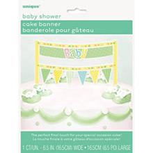 Decoración tarta Baby - Ítem1