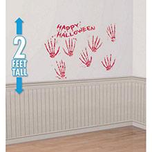Adhesivos de pared Manos ensangrentadas - Ítem1