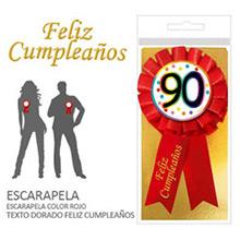 Escarapela 90 cumpleaños - Ítem1
