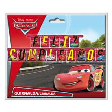 Guirnalda Feliz Cumpleaños Cars - Ítem1