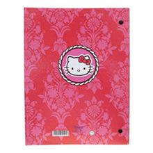 Carpeta de anillas cartón plastificado Hello Kitty mod. círculo - Ítem2