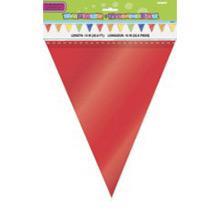 Guirnalda banderines colores de plástico - Ítem1
