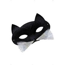 Antifaz gato con bigote - Ítem1