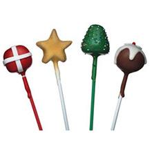 Palillos Lollypop 3 colores 10,00 cm, Pack 60 u. - Ítem1