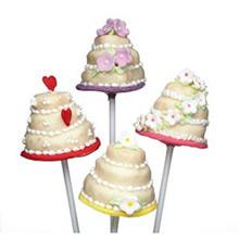 Molde silicona cake pops 23,00 x 19,00 cm - Ítem1