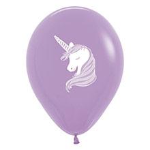 Globos Látex Unicornio, Pack 6 u. - Ítem5