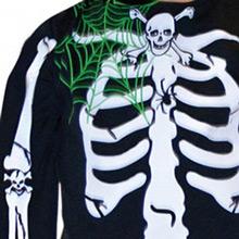 Disfraz esqueleto infantil - Ítem2
