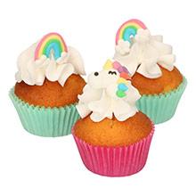 Decoración de azúcar comestible Arcoirs y Unicornios Culpitt - Ítem2