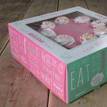 Caja para tartas con ventana - Ítem1