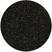 Azúcar de color negro para decorar FunCakes, 80 gr. - Ítem1