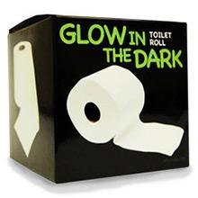Papel WC fosforescente, brilla en la oscuridad - Ítem1