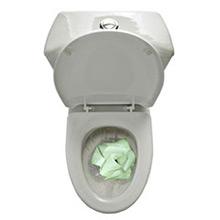 Papel WC fosforescente, brilla en la oscuridad - Ítem2