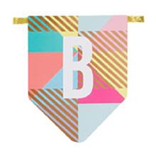 Guirnalda Happy Birthday, banderines - Ítem1