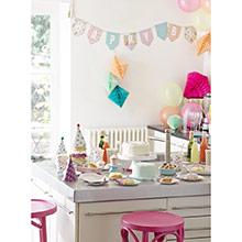 Guirnalda Happy Birthday, banderines - Ítem3