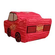 Piñata artesana Cars Rayo McQueen - Ítem1