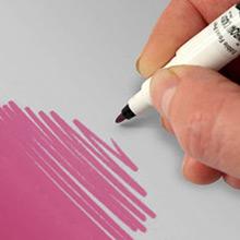 Rotulador comestible rosa dos puntas - Ítem1