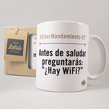 Taza ¿Hay WiFi? - Ítem1