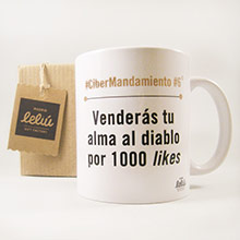 Taza Venderás tu alma al diablo por 1.000 likes - Ítem1